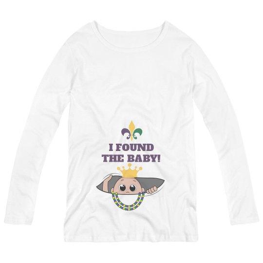 Cute Mardi Gras Maternity Mommy