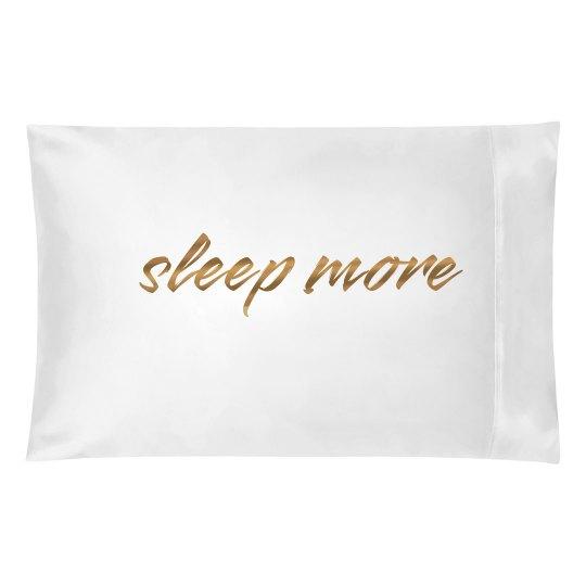 Cute Metallic Sleep More