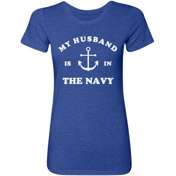 Cute My Husband Is In The Navy