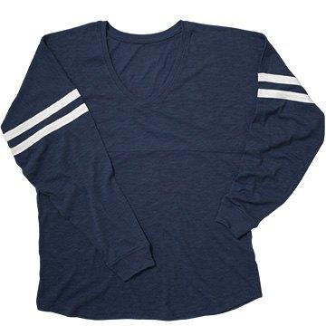 Cute Navy Blue Jersey Shirt