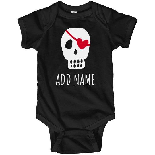 Cute Pirate Valentine Baby Name
