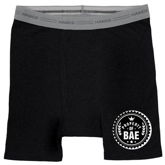 Cute Property Of Bae Boxer Brief