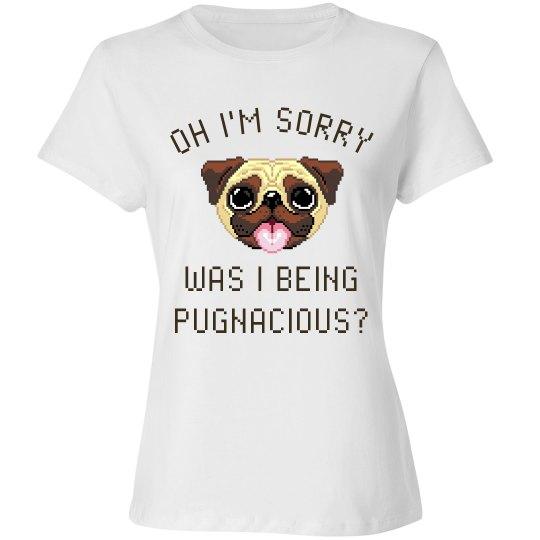 Cute Pugnacious Pug