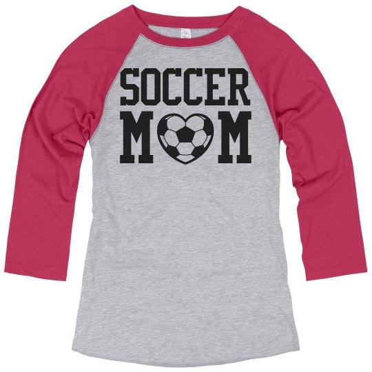 Cute Soccer Mom Love Shirts