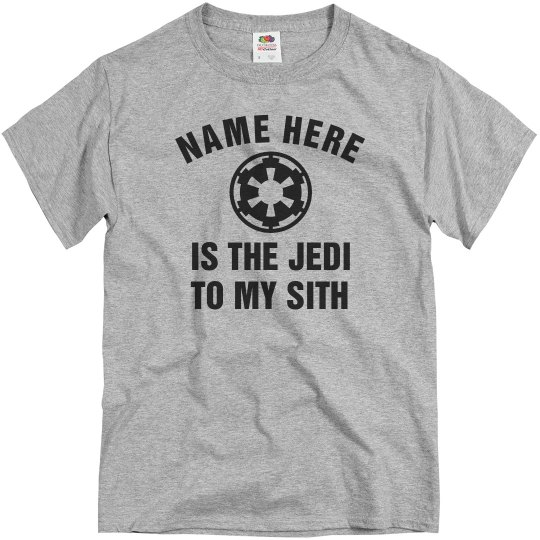 Cute The Jedi To My Sith
