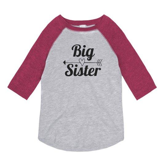 Cute Trendy Big Sister