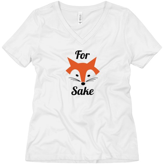 Cute Trendy For Fox Sake