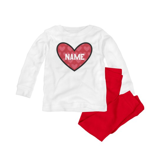 Cute Valentine Baby Add Name