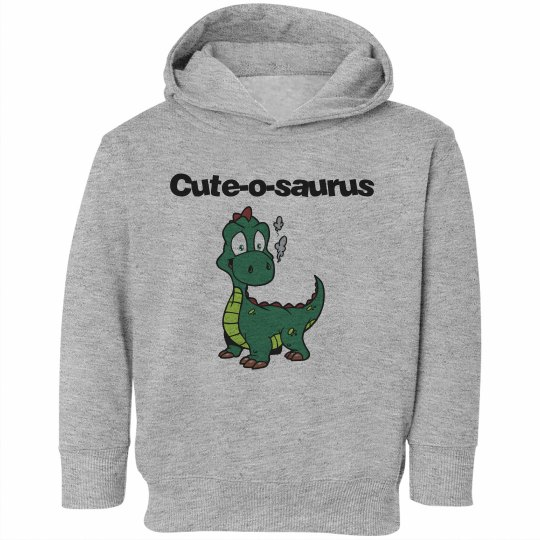 Cute-o-saurus Hoodie for Toddlers