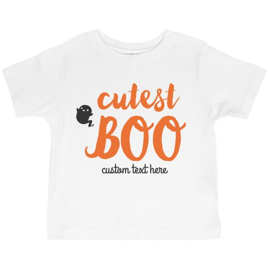 Cutest Boo Toddler Ghost Tee