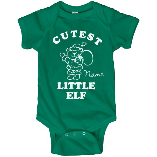 Cutest Elf Xmas Bodysuit