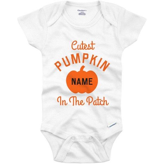 Cutest Pumpkin Custom Halloween