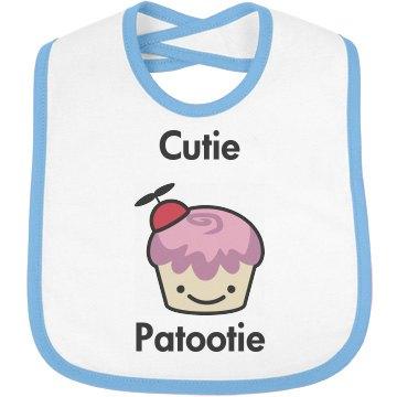 Cutie Cupcake Bib