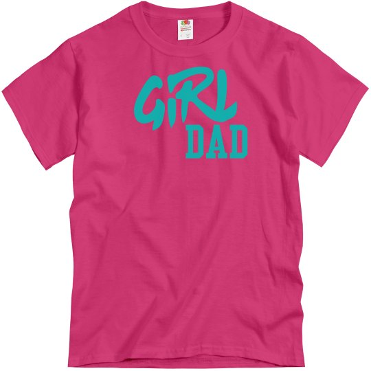 Cyber pink tee w/Carolina blue  verbiage