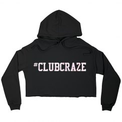"""Catch Me In The Club"" Cropped Hoodie"