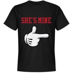 She's Mine Couples Shirt