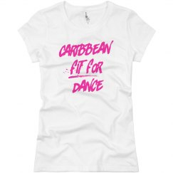 Caribbean Fit For Dance Jersey Tee