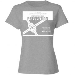 17th Annual Mid-Year Ladies T-Shirt- Heather Grey