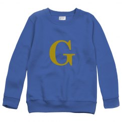 G initial sweater