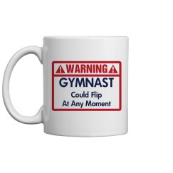 Warning! Gymnast!