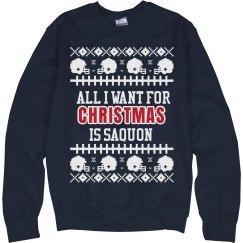Football Ugly Sweater C. Matthews