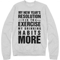 Funny New Years Fitness