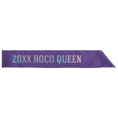 Custom Date Hoco Queen Sash