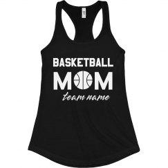 Basketball Mom Custom Racerback