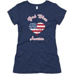 God Bless America - Womens