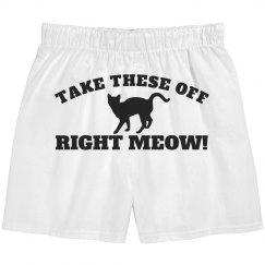 Take These Off Meow