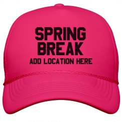Neon Spring Break Custom Location