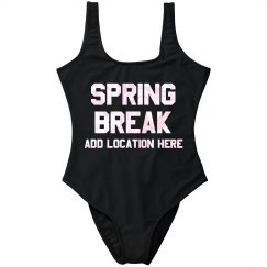 Custom Spring Break Swimsuit