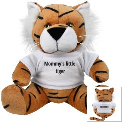 Plush tiger doll