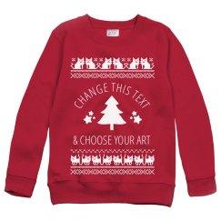 Custom Cat Ugly Christmas Sweaters
