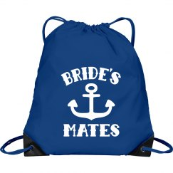 Beach Wedding Bride's Mates Backpack