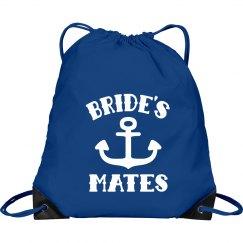 Beach Wedding Bride's Mates Backpack