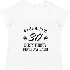 Dirty Thirty Birthday Cup