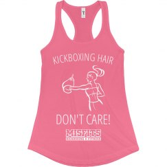 Kickboxing Hair Don't Care