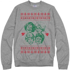 Simple Golden Girls Ugly Sweater