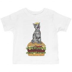 Cat Burger Toddler
