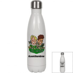 Crazy Cat Lady Stainless Steel Water Bottle