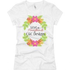 C&C DESIGNS LOGO TEE