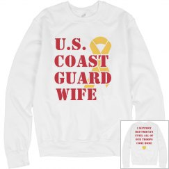 Red Fridays Coast Guard Wife