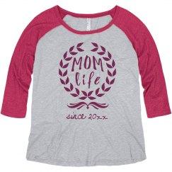 Custom Mom Life Plus Raglan