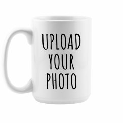 Custom Photo Upload Gift Mug