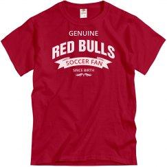 Red Bulls Soccer fan