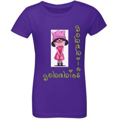 GOBABIES Youth Next Level Girls Princess Tee