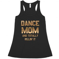Metallic Dance Mom Tank