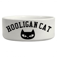 Hooligan Cat Bowl
