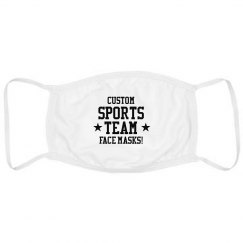 Custom Sports Team Face Masks